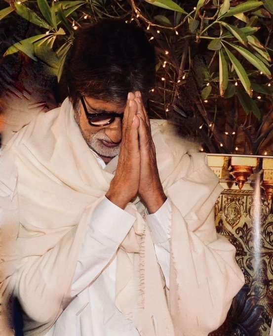 Fitaccen Jarumin Bollywood Amitabh Bachchan Da Dansa Abishek sun Kamu Da Civid-19.