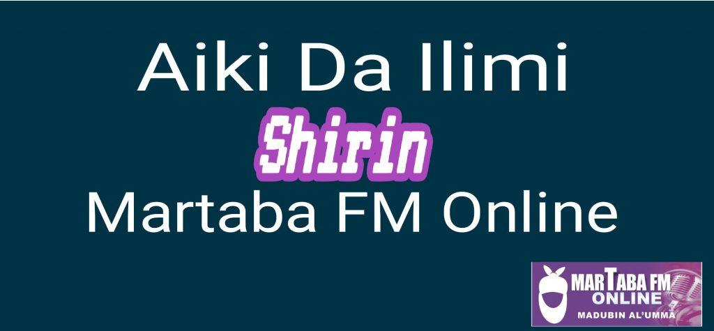 Shirin Aiki Da Ilimi Fitowa Na (13)