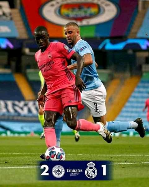 Gasar Zakarun Turai: Manchester City ta doke Real Madrid a Gida