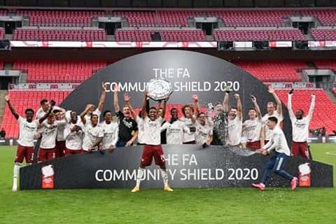 Arsenal ta lashe Farantin Community Shield na wannan Shekarar