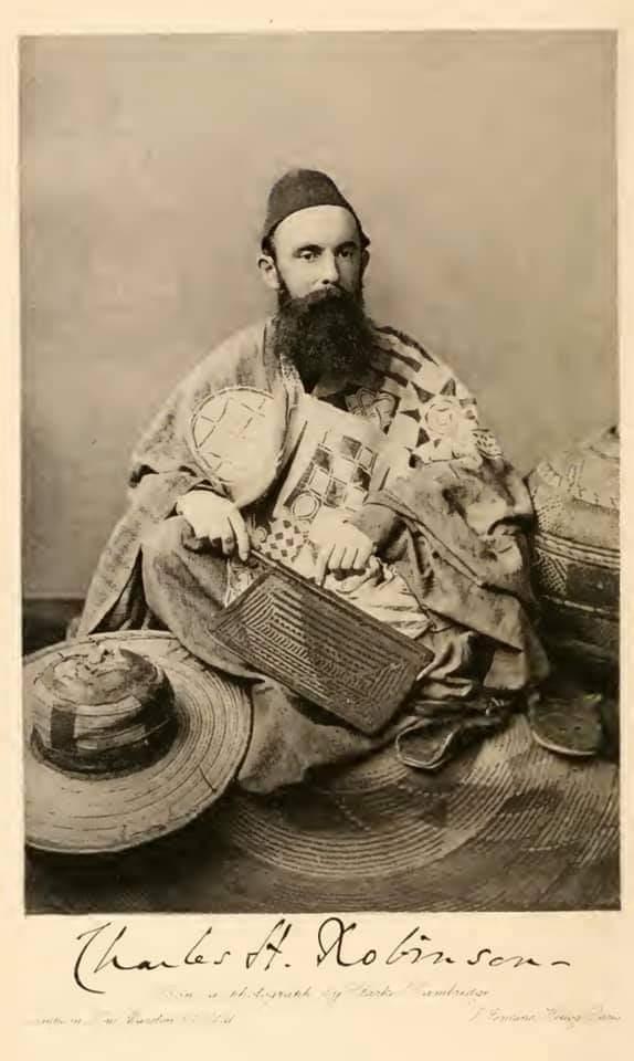 Hidimar Da Charles Henry Robinson Ya Yi wa Harshen Hausa.
